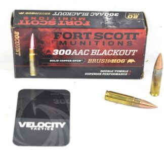 Fort Scott 300 Black out Ammo 115gr