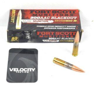 Fort Scott 300 AAC Ammunition