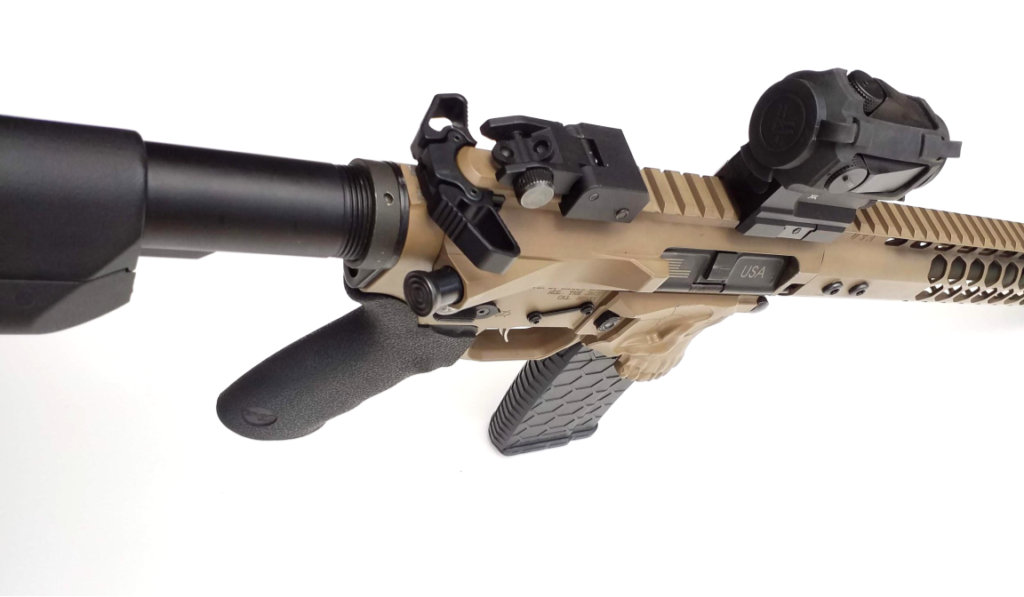 AR15 Tan Side View