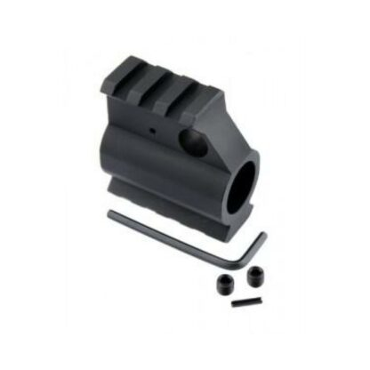 Guntec USA Gas Block with Rail